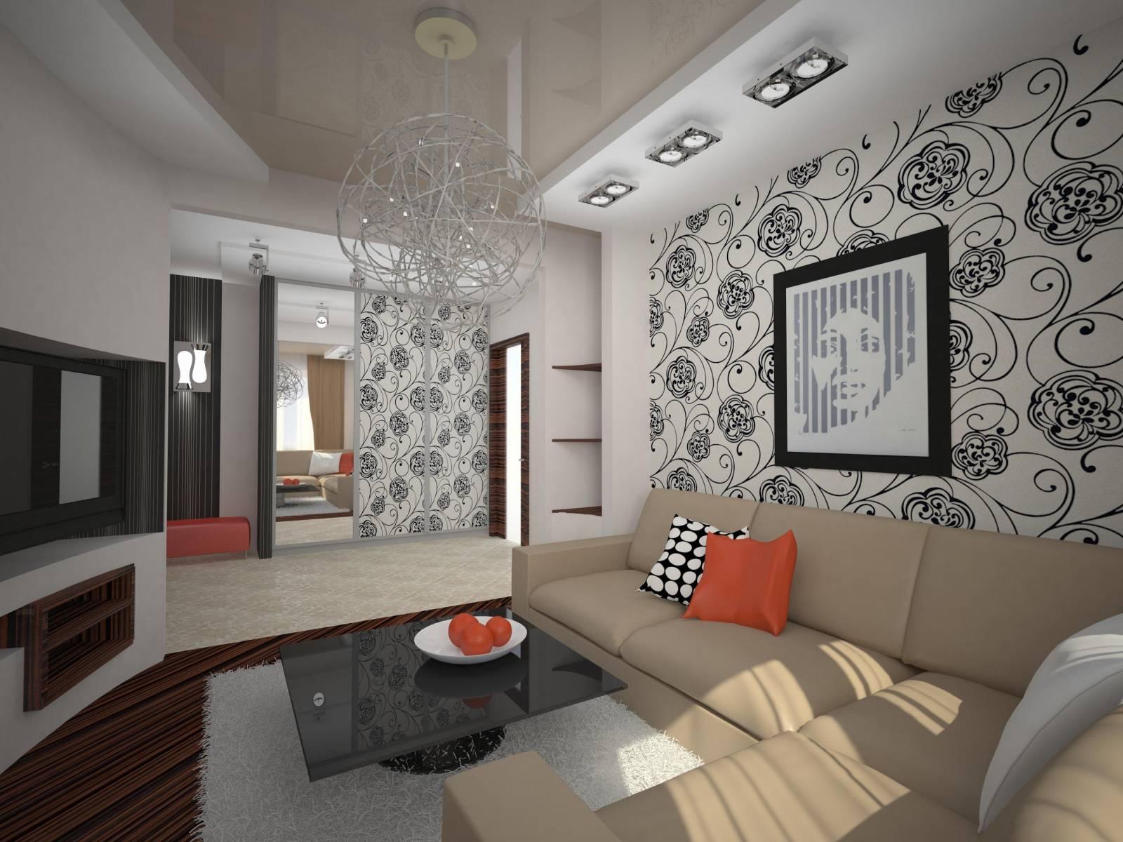 Дизайн Гостиной 18 Кв М В Панельном Доме