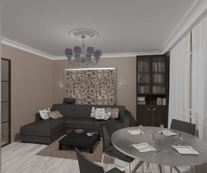 Дизайн комнаты на 18 м2