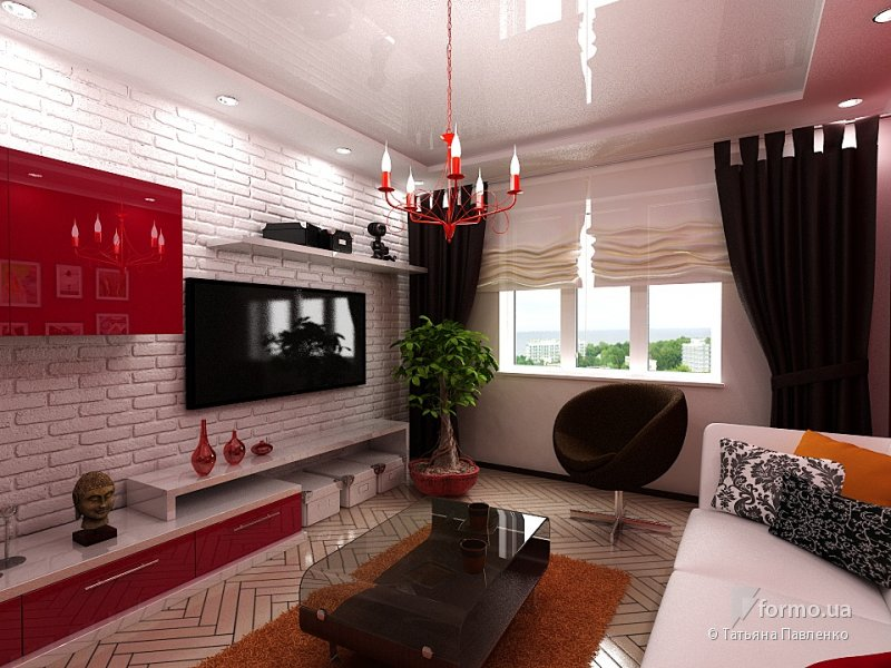 Дизайн обоев в квартирах фото