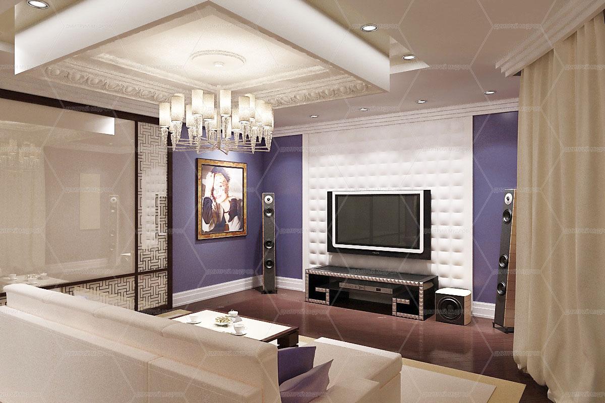Дизайн гостиных