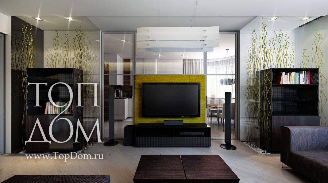 Интерьер гостиной модерн